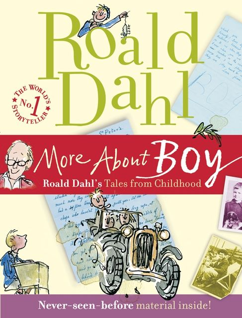 More About Boy, Roald Dahl