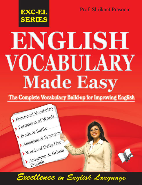 English Vocabulary Made Easy, Shrikant Prasoon