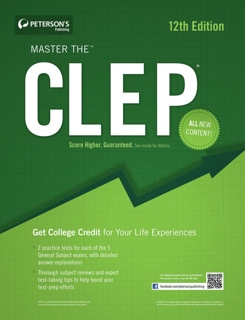Master the CLEP, Peterson's