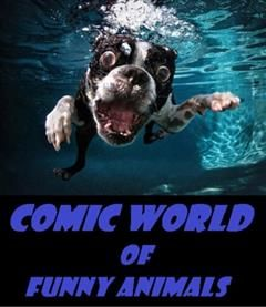 Comic World of Funny Animals, Comic Funny Humor Joke eBooks