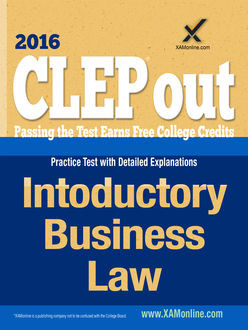 CLEP Introductory Business Law, Sharon Wynne