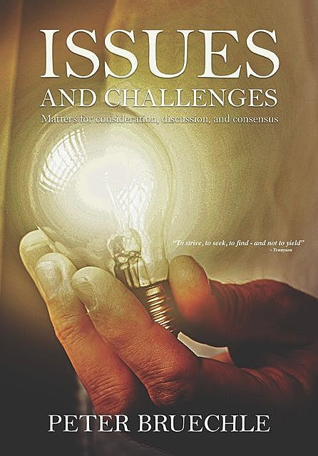 Issues and Challenges, Peter C Bruechle