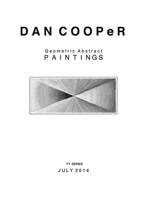 Dan Cooper: Geometric Abstract Paintings, Dan Cooper