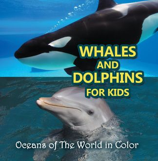 Whales and Dolphins for Kids : Oceans of The World in Color, Baby Professor