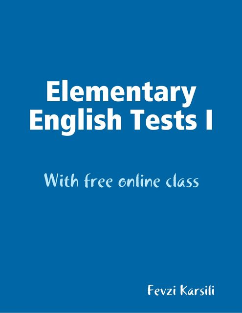 Elementary English Tests I, Fevzi Karsili