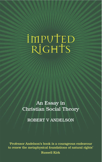 Imputed Rights, Robert V.Andelson