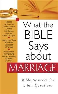 What the Bible Says about Marriage, Barbour Publishing