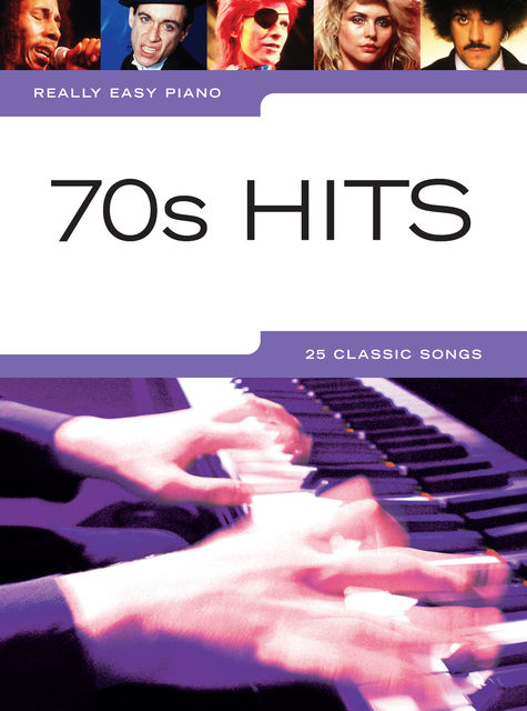 Really Easy Piano: 70s Hits, Wise Publications