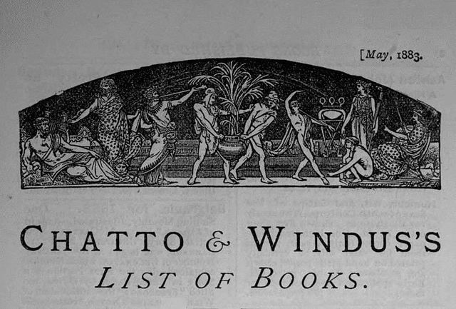 Chatto & Windus's List of Books, May 1883, Windus Chatto