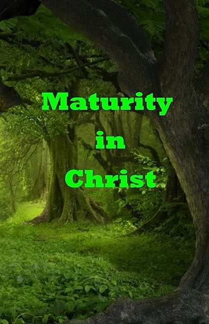 Maturity in Christ, e-AudioProductions. com