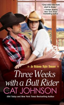 Three Weeks With A Bull Rider, Cat Johnson