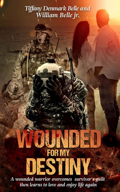 Wounded For My Destiny: A Wounded Warrior Overcomes Survivor's Guilt, Tiffany Denmark