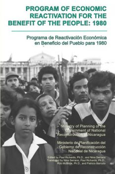 Program of Economic Reactivation for the Benefit of the People, 1980, Nicaragua Ministry of Planning