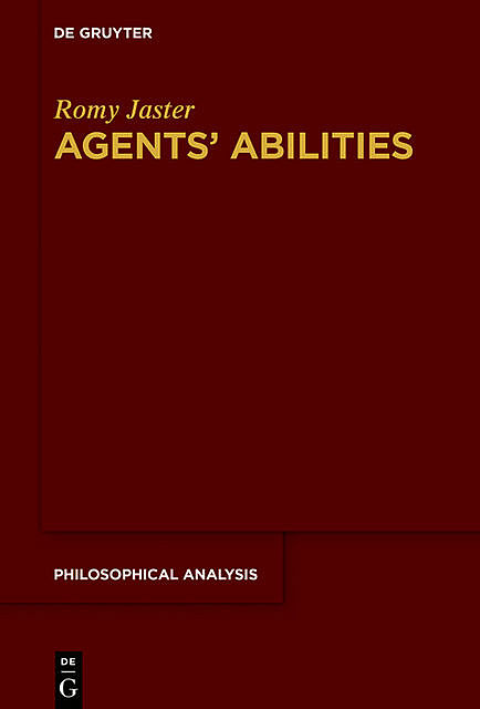 Agents' Abilities, Romy Jaster