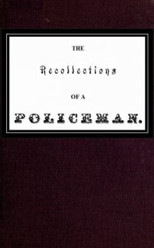 Recollections of a Policeman, William Russell
