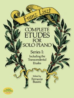Complete Etudes for Solo Piano, Series I, Franz Liszt