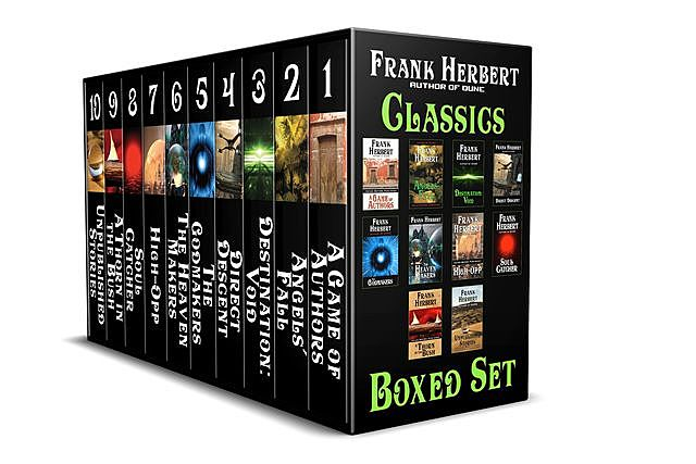 The Frank Herbert Classics Boxed Set, Frank Herbert