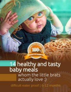 14 Healty and Tasty Babymeals Whom the Little Brats Actually Love, iDEAxi BE