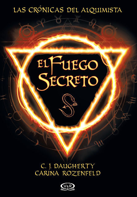 El fuego secreto, C.J.Daugherty, CarinaRozenfeld