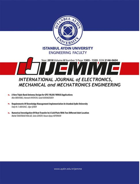 International Journal of Electronics, Mechanical and Mechatronics Engineering (IJEMME), IJEMME