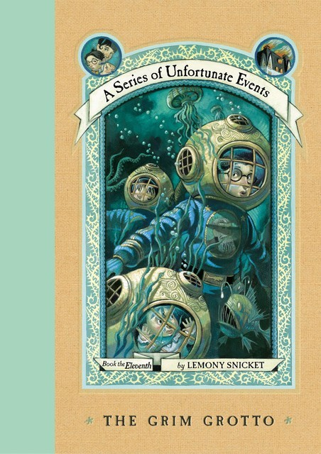 A Series of Unfortunate Events 11 - The Grim Grotto, Lemony Snicket