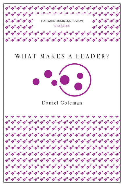 What Makes a Leader? (Harvard Business Review Classics), Daniel Goleman