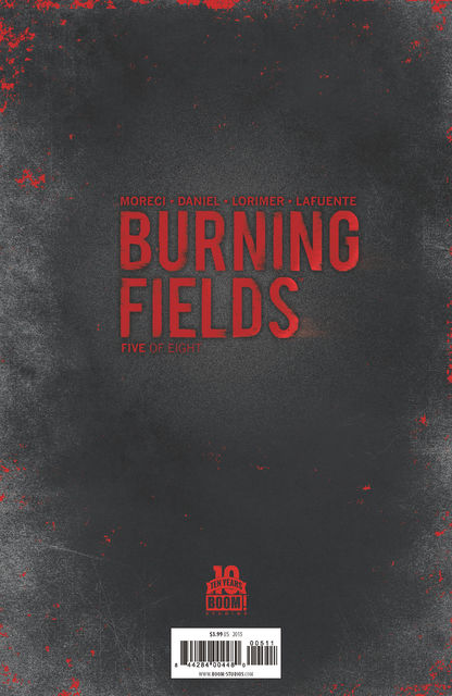 Burning Fields #5 (of 8), Michael Moreci, Tim Daniel