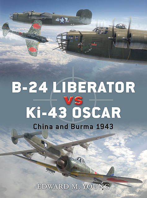 B-24 Liberator vs Ki-43 Oscar, Edward Young