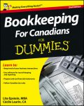 Bookkeeping For Canadians For Dummies, Lita Epstein, Cecile Laurin