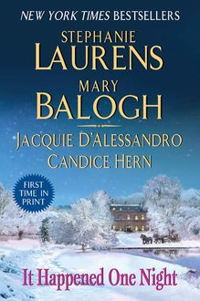 It Happened One Night, Mary Balogh, Stephanie Laurens, Jacquie D'Alessandro, Candice Hern