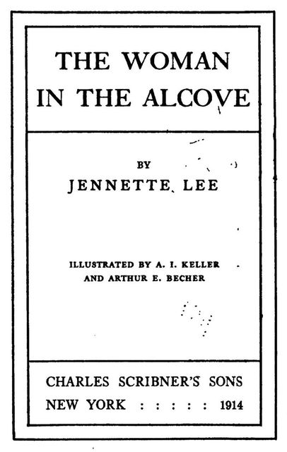 The Woman in the Alcove, Jennette Lee
