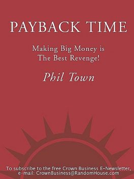 Payback Time, Phil Town
