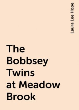 The Bobbsey Twins at Meadow Brook, Laura Lee Hope