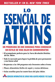 Lo Esencial de Atkins, Atkins Health, Medical Information Services