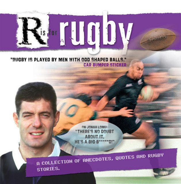 R is for Rugby, Paul Morgan