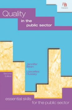 Quality in the Public Sector, Jennifer Bean, Lascelles Hussey