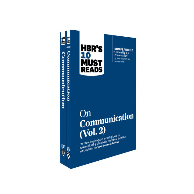 HBR's 10 Must Reads on Communication 2-Volume Collection, Harvard Business Review