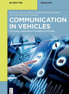 Communication in Vehicles, Ute Winter, Donal Carbaugh, Brion van Over, Elizabeth Molina-Markham, Sunny Lie