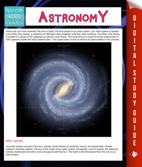 Astronomy (Speedy Study Guides), Speedy Publishing