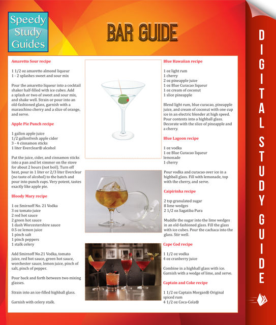 Bar Guide (Speedy Study Guides), Speedy Publishing