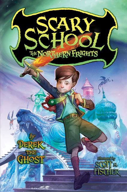 Scary School #3: The Northern Frights, Derek the Ghost