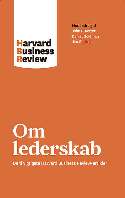 Om lederskab, Harvard Business Review