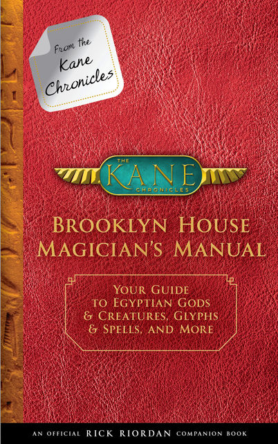 Brooklyn House Magician's Manual, Rick Riordan