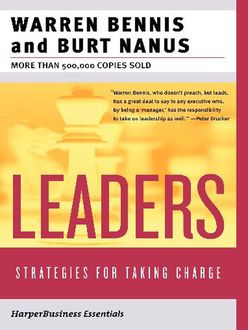 Leaders, Warren Bennis, Burt Nanus