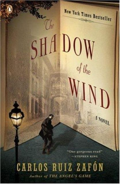 The shadow of the wind, Carlos Ruiz Zafón, Lucía Graves