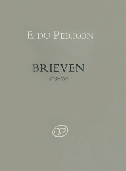 Brieven. Deel 9. 26 september 1920–9 mei 1940, E. du Perron
