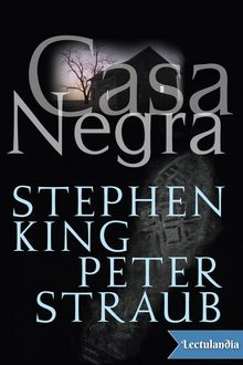 Casa Negra, Stephen King, Peter Straub