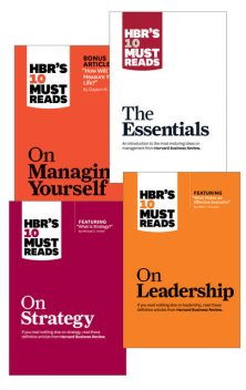 HBR?s 10 Must Reads Collection (12 Books) (HBR?s 10 Must Reads), Peter Drucker, Clayton Christensen, Daniel Goleman, Harvard Business Review, Michael Porter