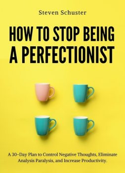 How to Stop Being a Perfectionist, Steven Schuster
