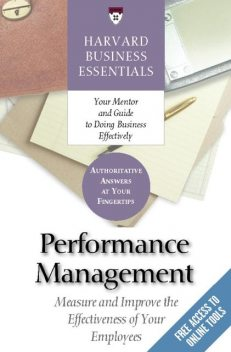 Performance Management, Harvard Business Review Press